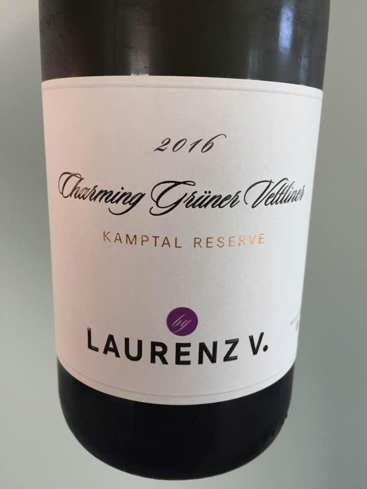 Laurenz V. – Charming Grüner Veltliner 2016 – Kamptal DAC Reserve