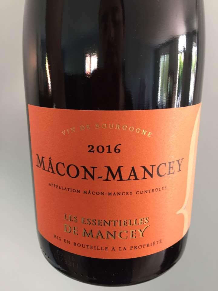 Les Essentielles de Mancey 2016 – Mâcon-Mancey