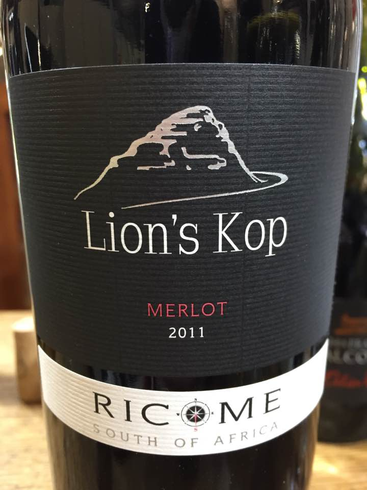 Lion's Kop – Merlot 2011 – Ricome – Stellenbosch, South Africa