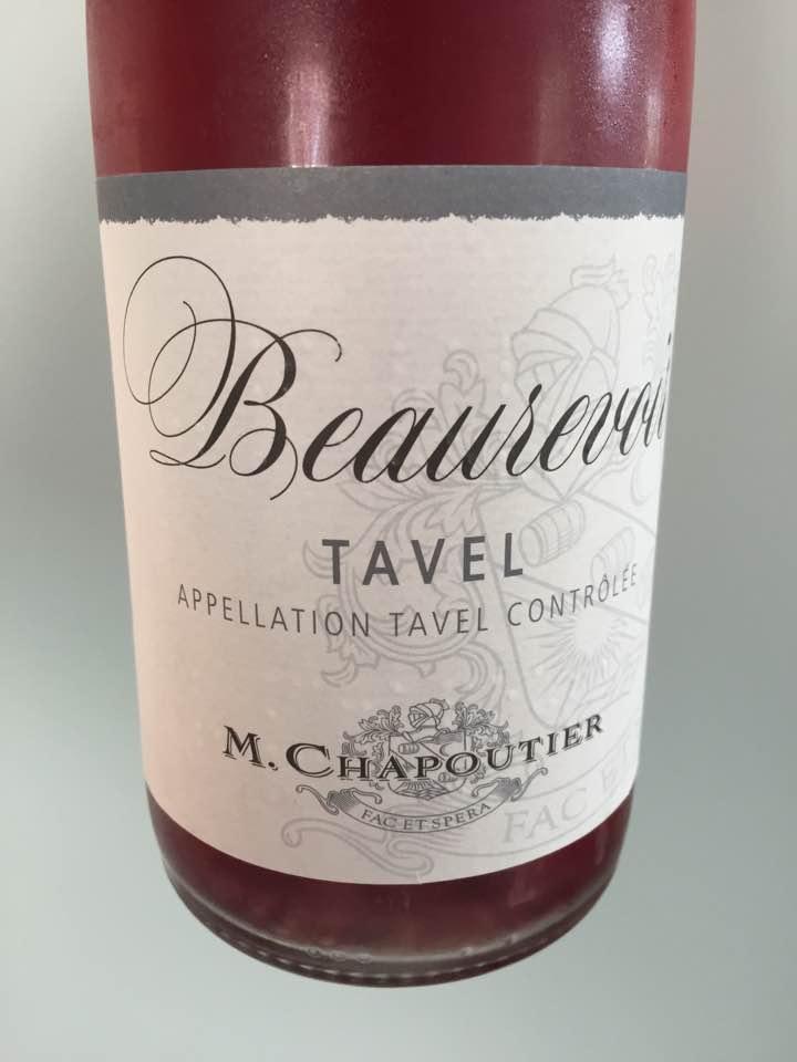 M. Chapoutier – Beaurevoir 2016 – Tavel