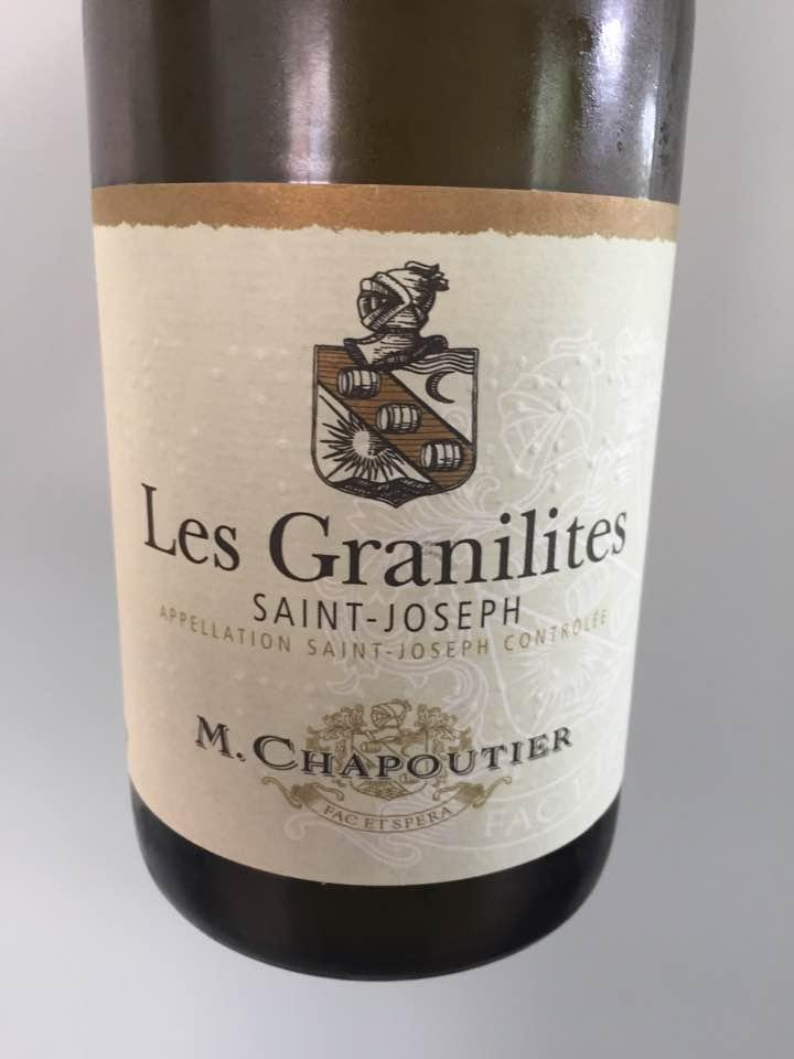 M. Chapoutier – Les Granilites 2016 – Saint-Joseph