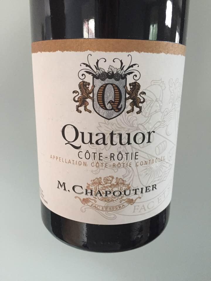 M. Chapoutier – Quatuor 2015 – Côte-Rôtie