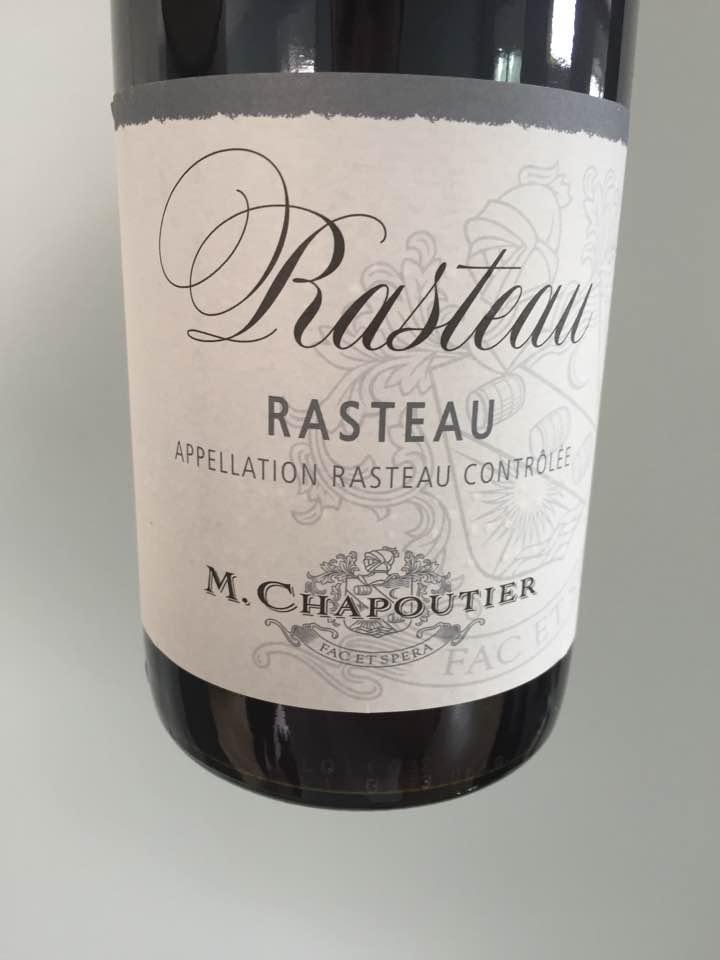 M. Chapoutier – Rasteau 2016 – Rasteau