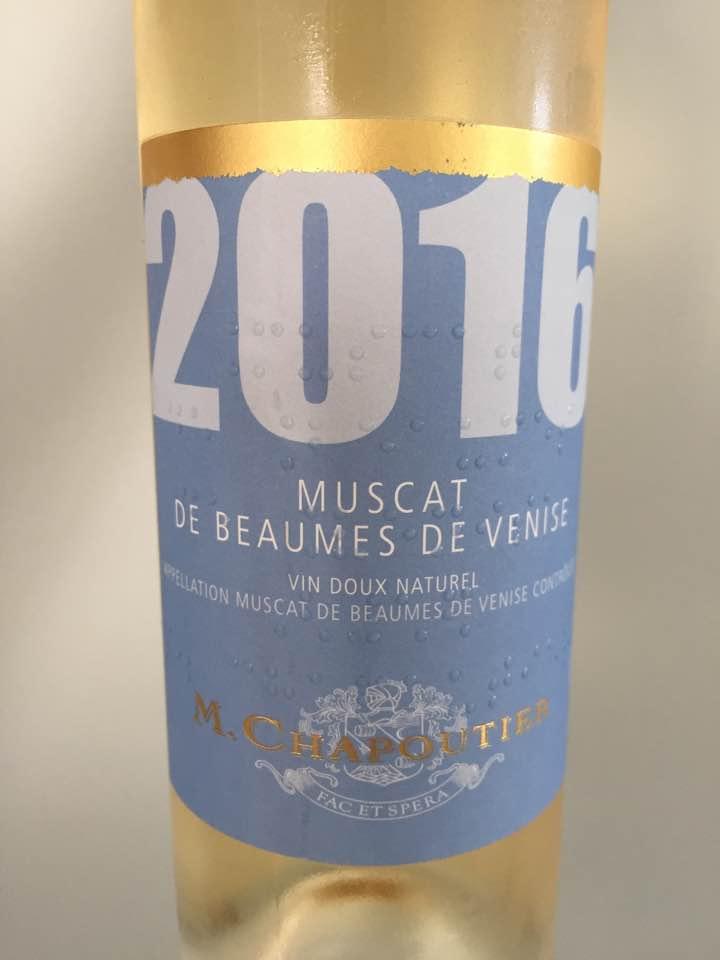 M. Chapoutier 2016 – Muscat de Beaumes de Venise