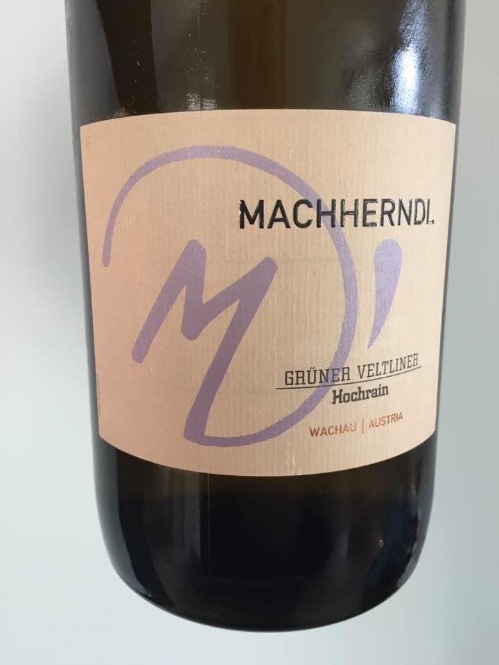 Machherndl – Grüner Veltliner 2011 Smaragd – Wachau