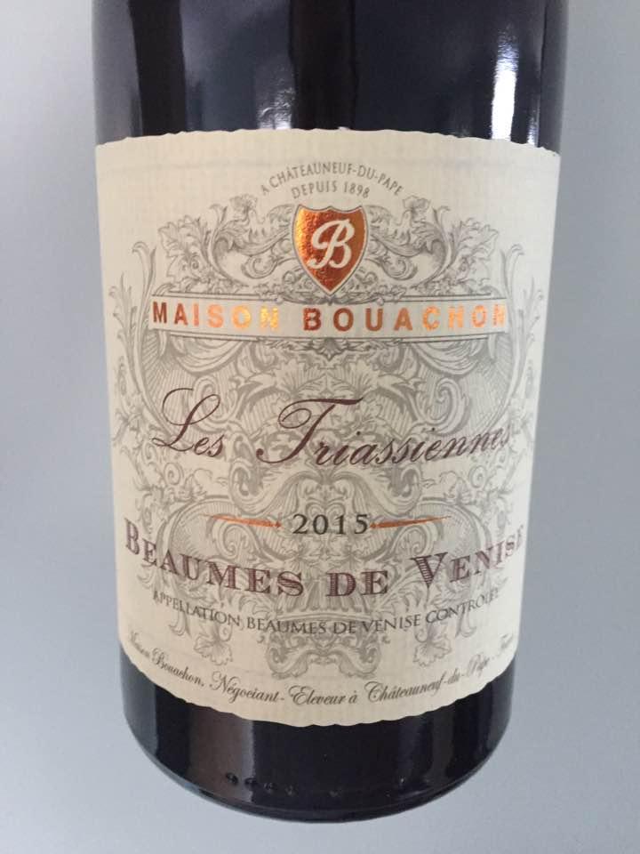 Maison Bouachon – Les Friassiennes 2015 – Beaumes de Venise