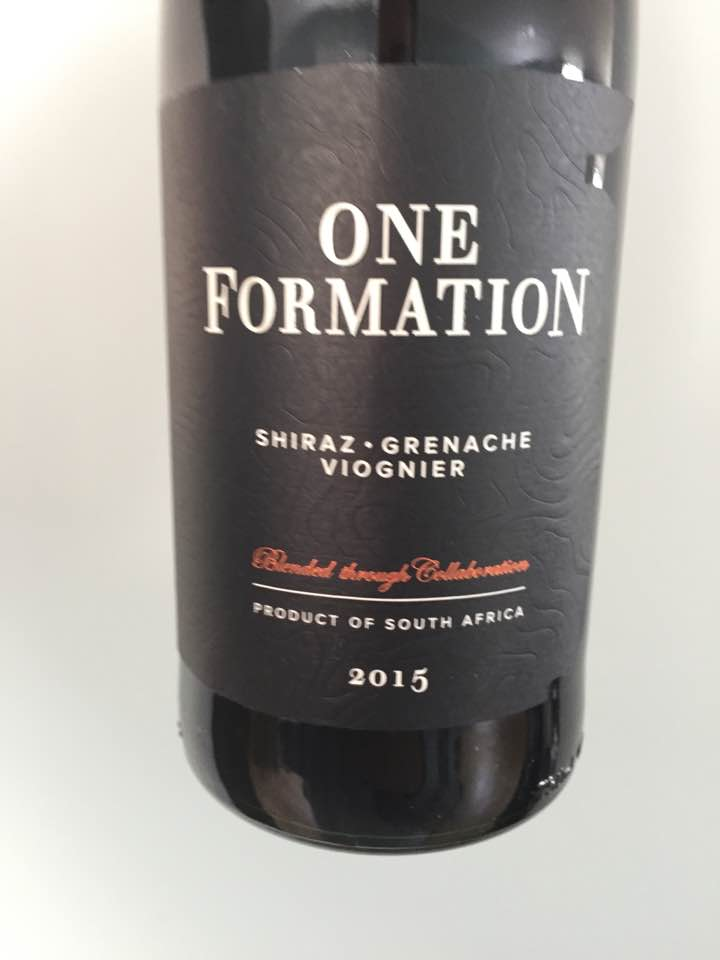 One Formation – Shiraz / Grenach / Viognier 2015 – South Africa
