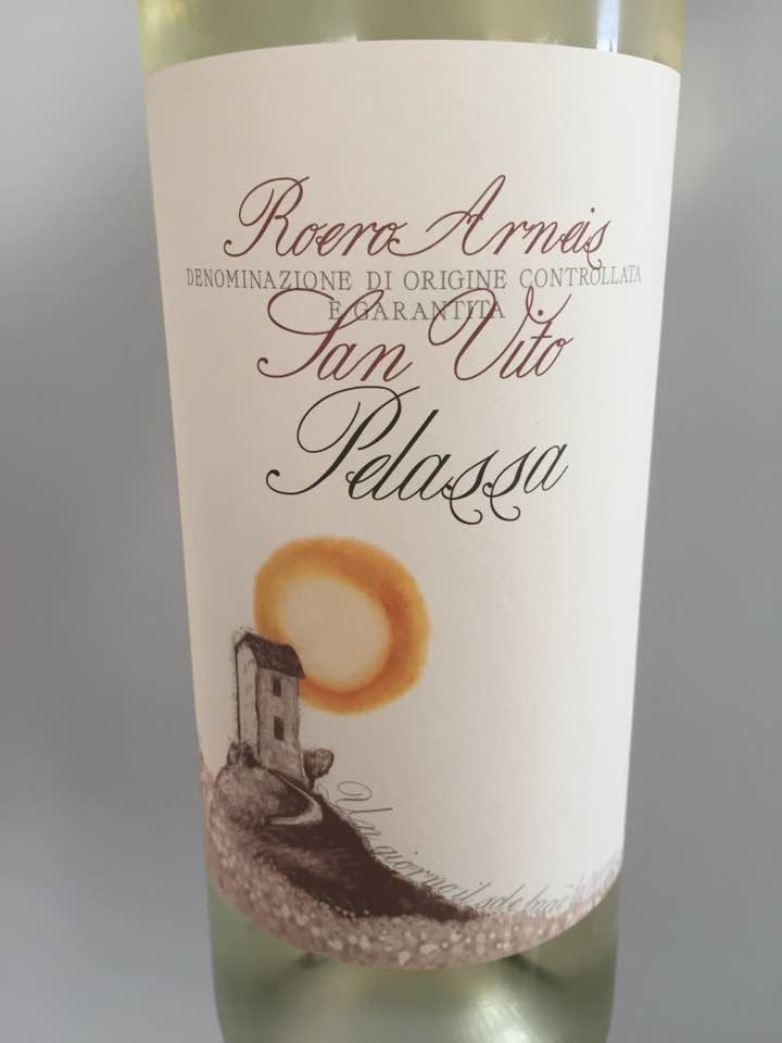 Pelassa – San Vito 2017 – Roero Arneis