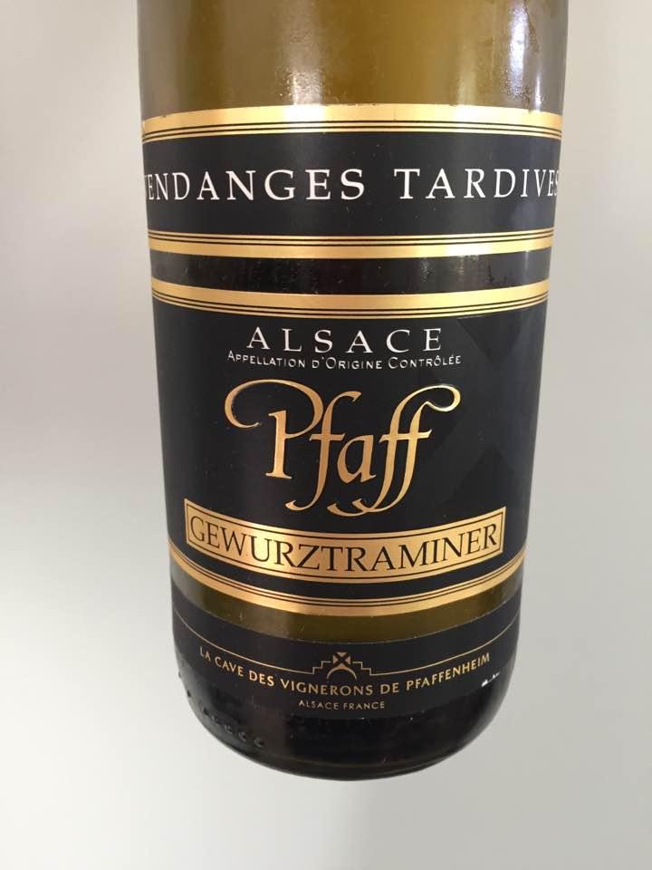 Pfaff – Vendanges Tardives, Gewurztraminer 2015 – Alsace