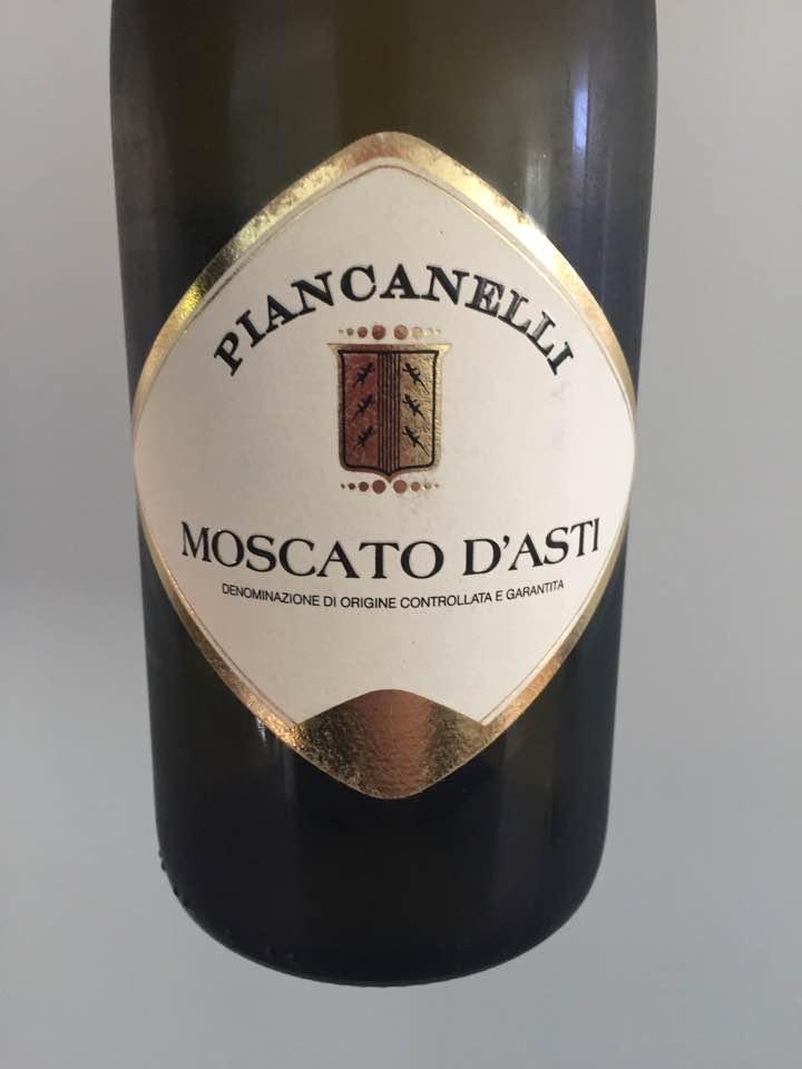 Piancanelli 2017 – Moscato d'Asti