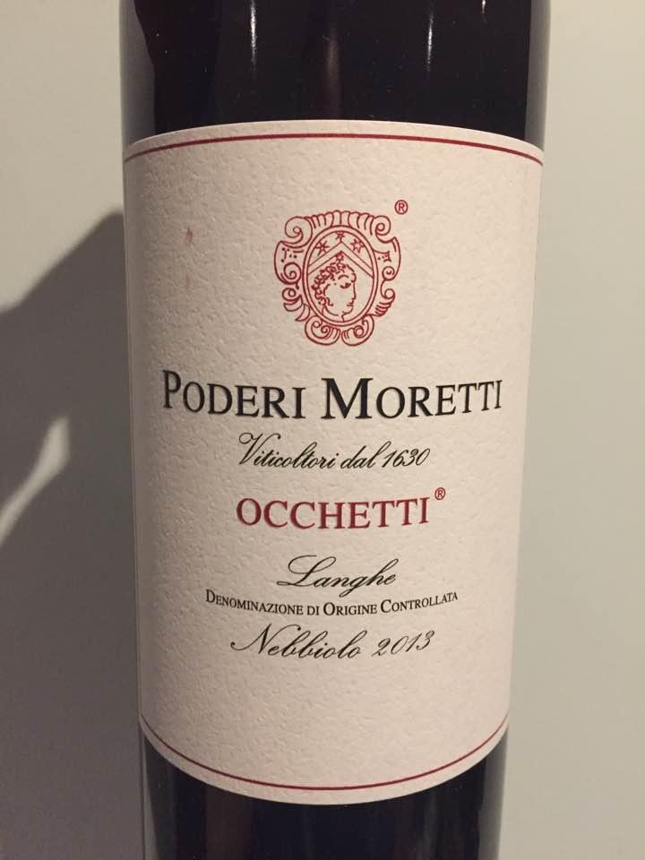 Podere Moretti – Occhetti 2013 Nebbiolo – Langhe