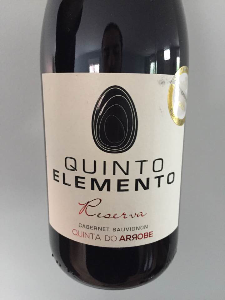 Quinta da Arrobe – Quinto Elemento – Cabernet Sauvignon Reserva 2013 – Vinho Regional Tejo