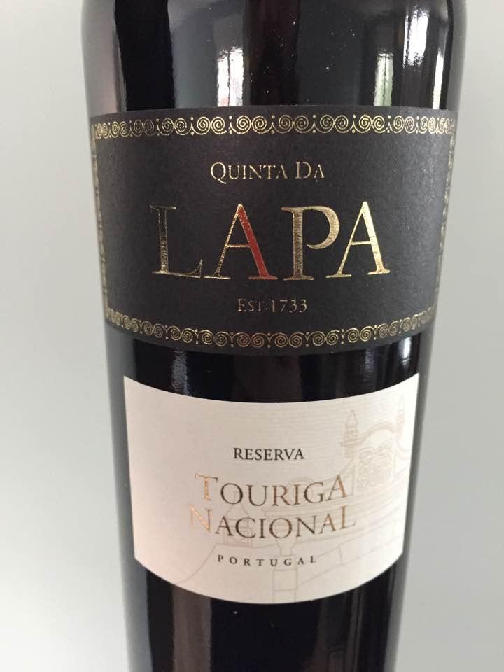 Quinta da Lapa – Tourigal Nacional 2015 Reserva – Vinho Regional Tejo