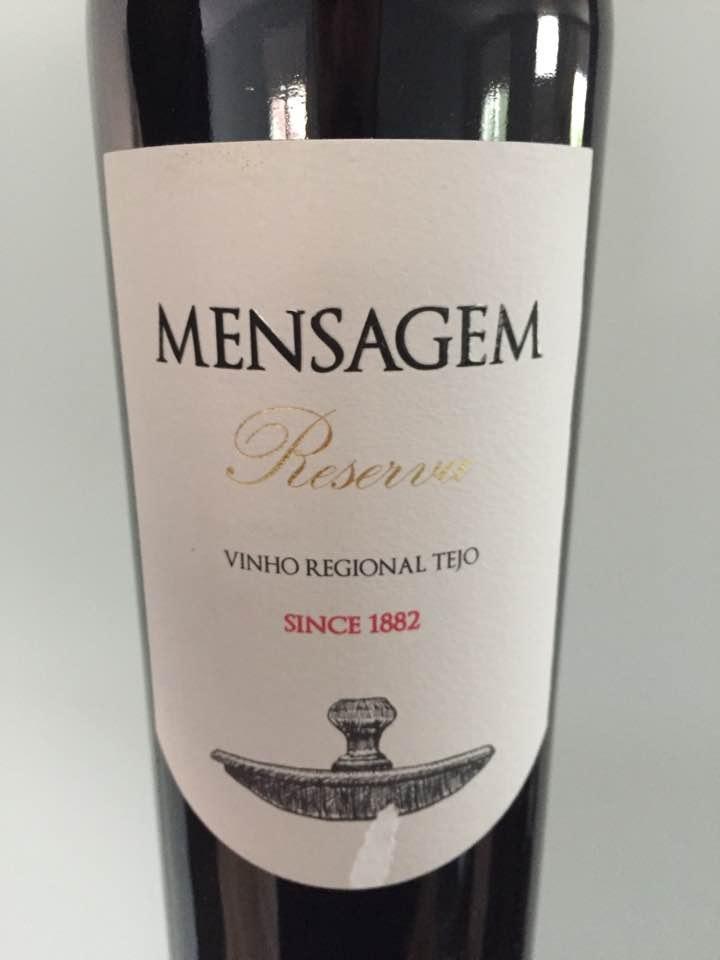 Quinta do Arrobe – Mensagem 2015 – Vinho Regional Tejo
