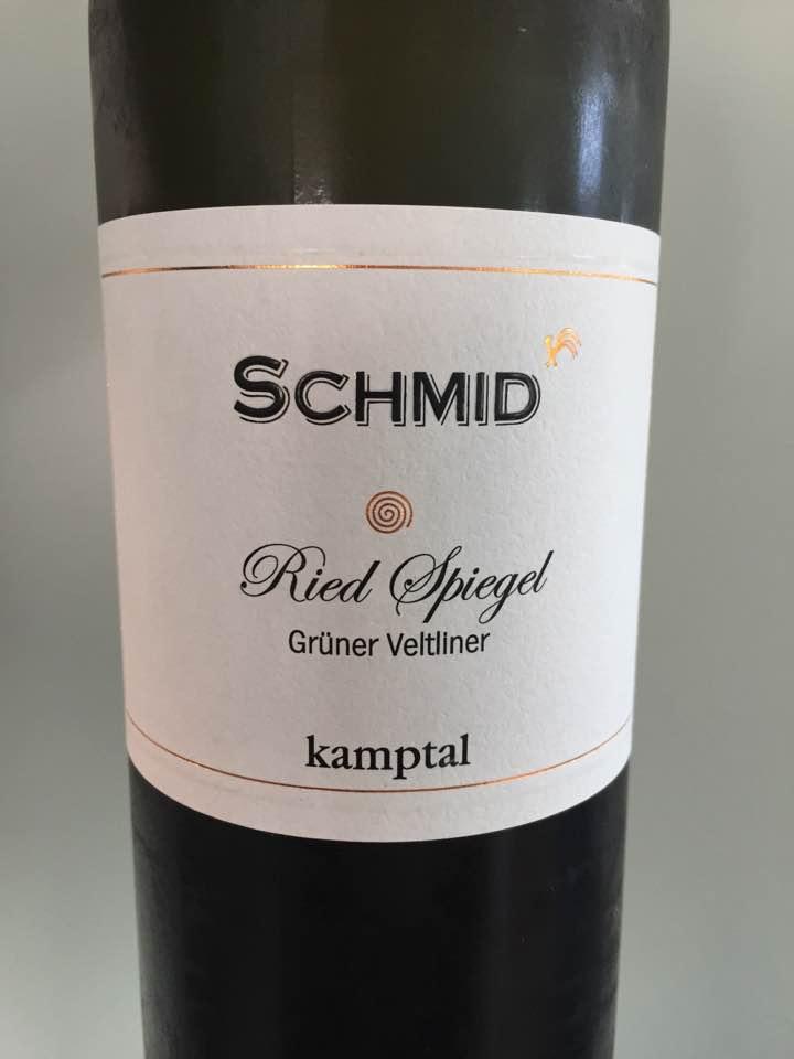 Schmid – Grüner Veltliner 2017 Ried Spiegel – Kamptal