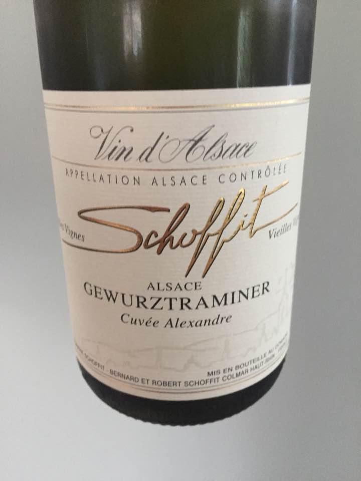 Schoffit – Cuvée Alexandre 2016 – Gewurztraminer Vieilles Vignes – Alsace