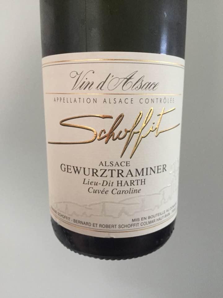 Schoffit – Cuvée Caroline 2015 – Gewurztraminer, Lieu-dit Harth – Alsace