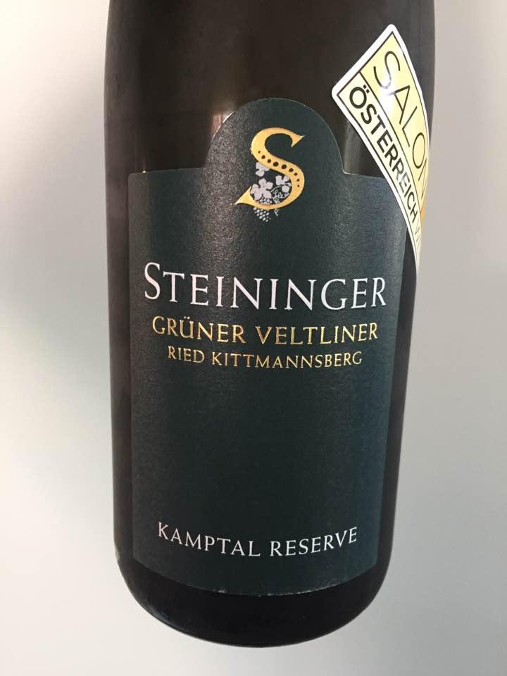 Steininger – Grüner Veltliner 2016 Ried Kittmannsberg – Kamptal DAC Reserve