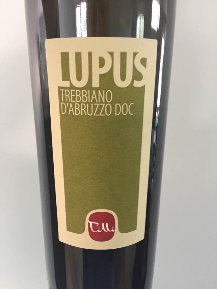 Tilli – Lupus 2017 – Trebbiano d'Abruzzo
