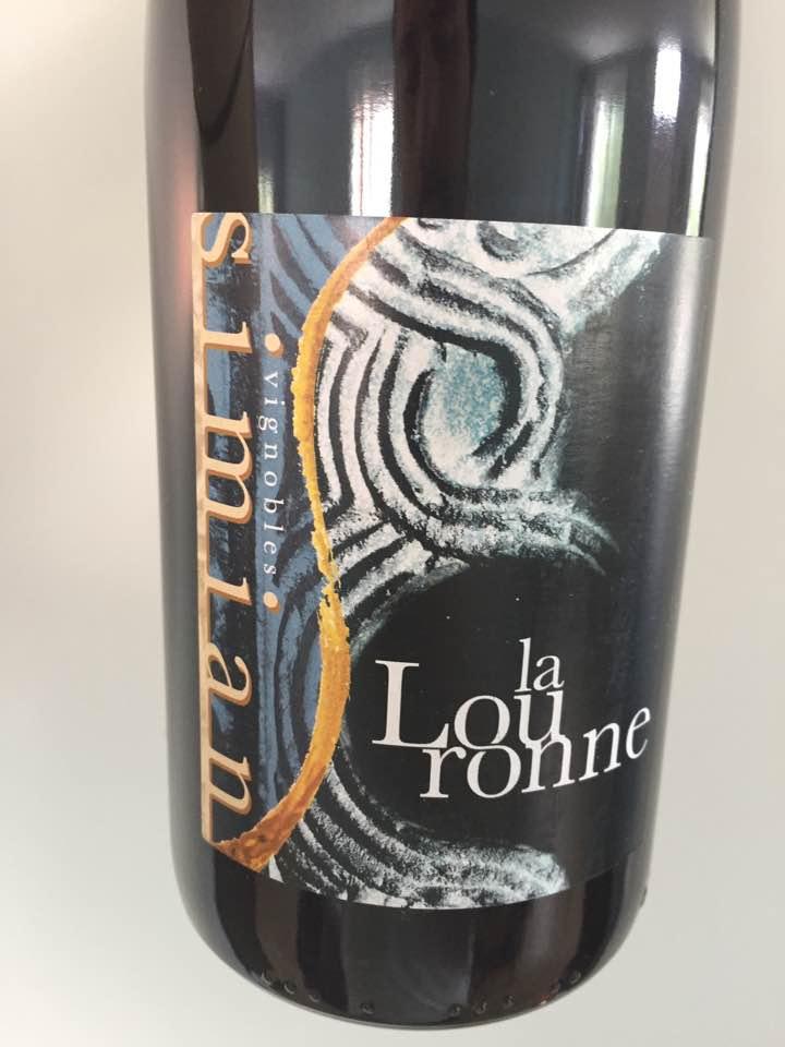 Vignobles Simian – La Louronne 2016 – Côtes du Rhône Villages