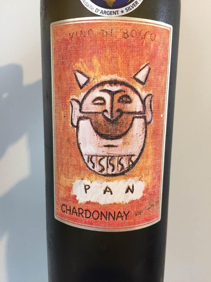 Vino di Bosco – Pan 2016, Chardonnay– Colline Pescaresi