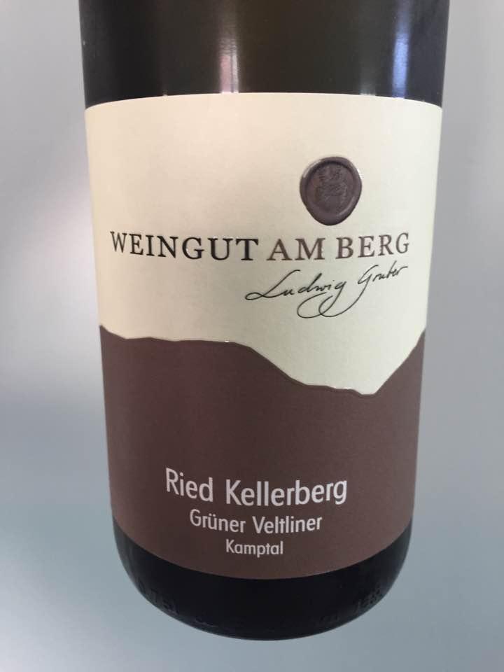 Weingut Am berg – Grüner Veltliner 2016 Ried Kellerberg – Kamptal