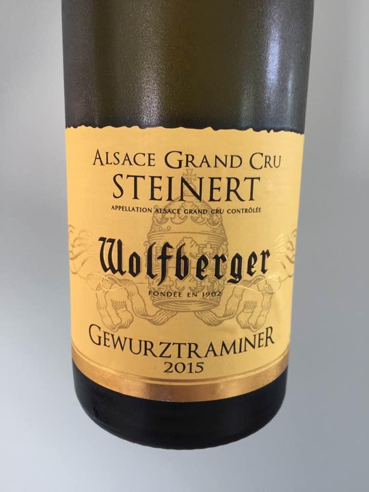 Wolfberger – Gewurztraminer 2015 – Alsace Grand Cru, Steinert