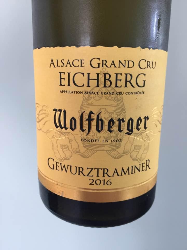 Wolfberger – Gewurztraminer 2016 – Alsace Grand Cru, Eichberg