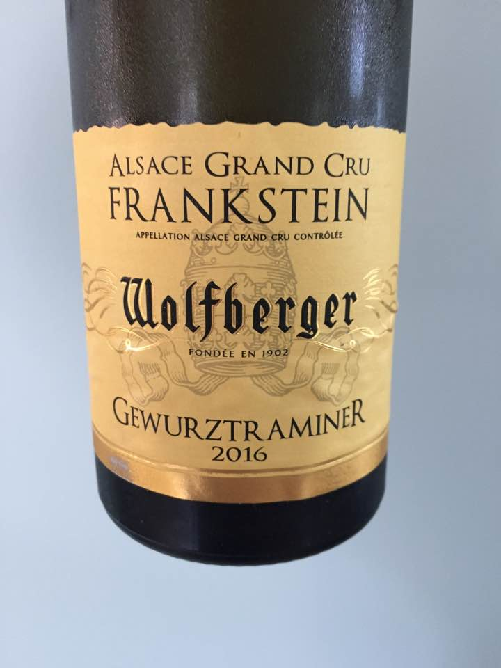Wolfberger – Gewurztraminer 2016 – Alsace Grand Cru, Frankstein