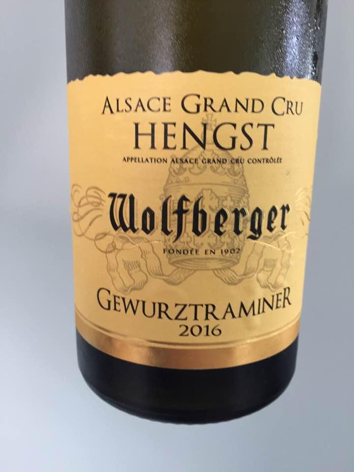 Wolfberger – Gewurztraminer 2016 – Alsace Grand Cru, Hengst