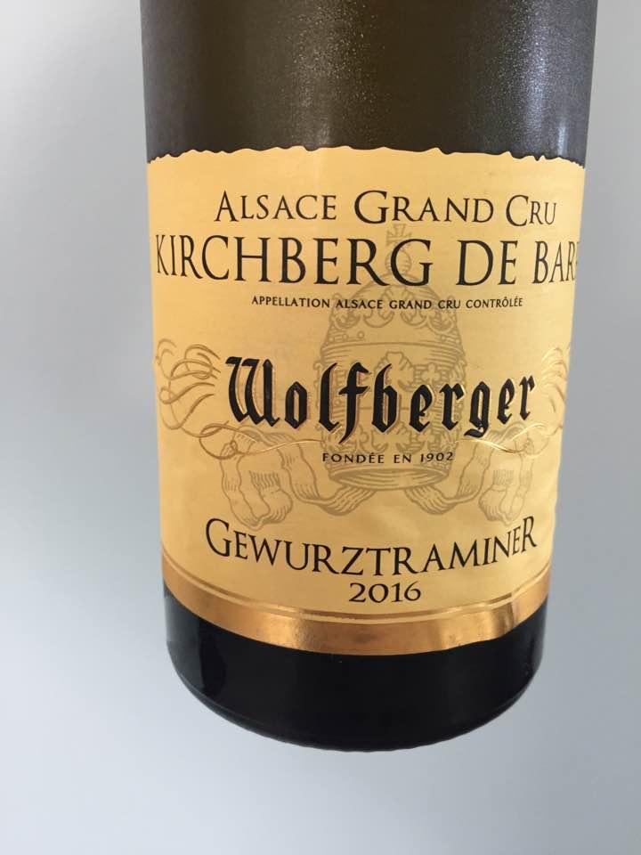 Wolfberger – Gewurztraminer 2016 – Alsace Grand Cru, Kirchberg de Barr