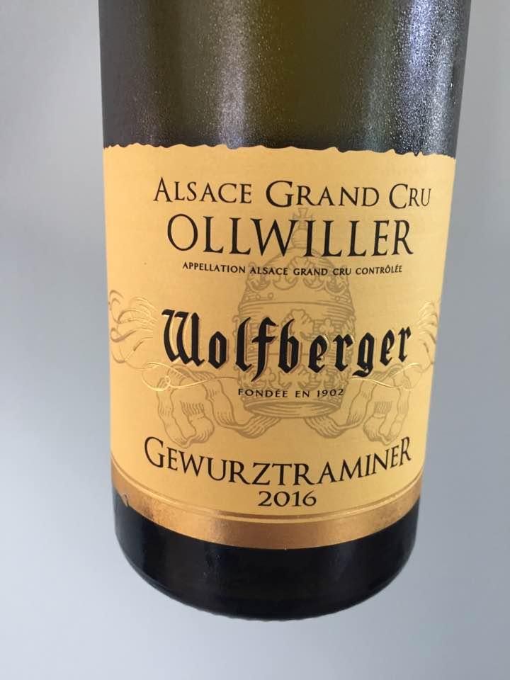 Wolfberger – Gewurztraminer 2016 – Alsace Grand Cru, Ollwiller