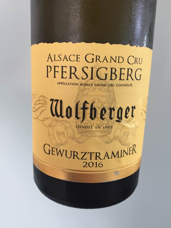 Wolfberger – Gewurztraminer 2016 – Alsace Grand Cru, Pfersigberg