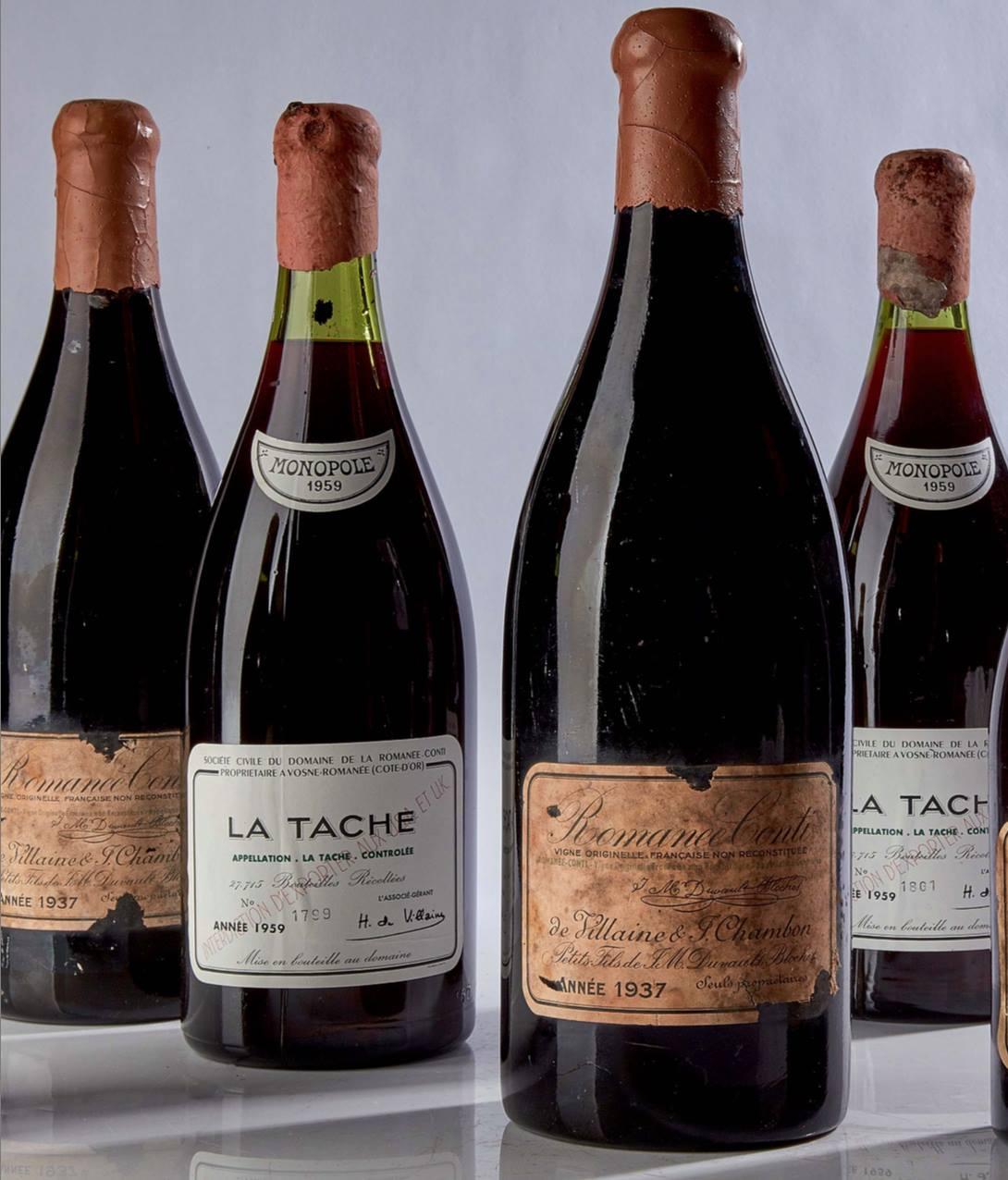 Sotheby's: A bottle of 1945 Romanée-Conti brokes all records!