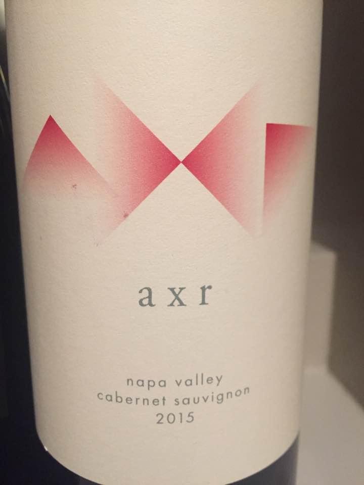 AXR – Cabernet Sauvignon 2015 – Napa Valley