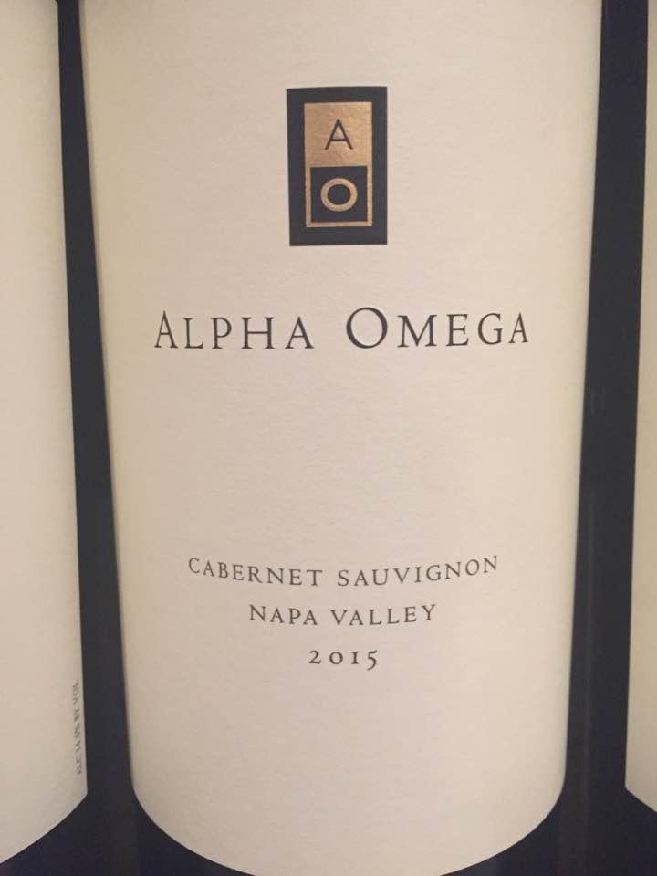 Alpha Omega – Cabernet Sauvignon 2015 – Napa Valley