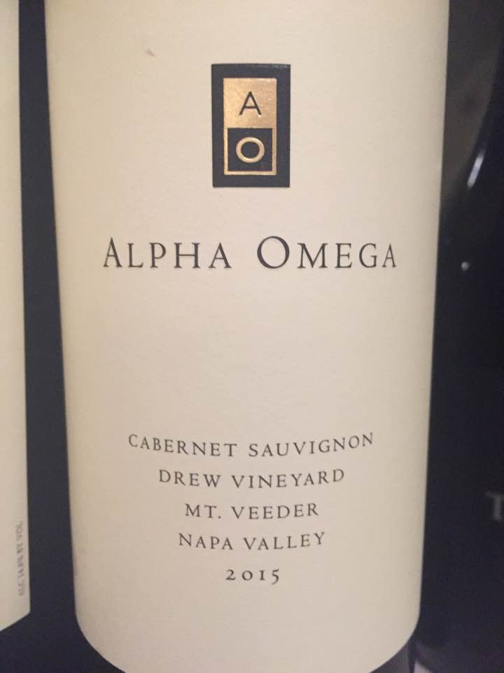 Alpha Omega – Cabernet Sauvignon 2015, Drew Vineyard – Mt. Veeder, Napa Valley