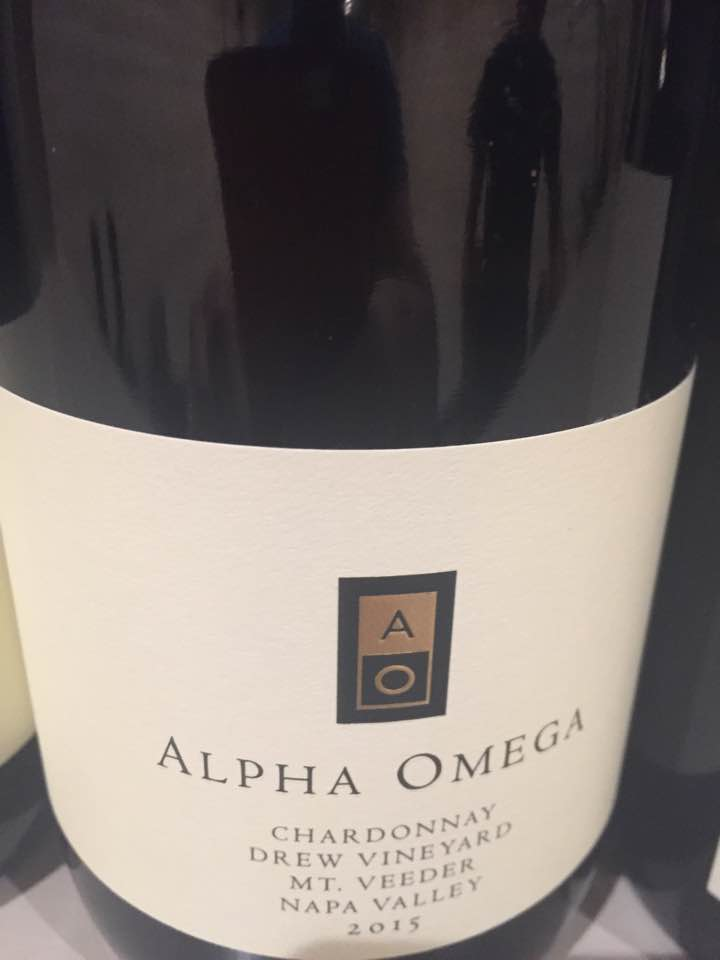 Alpha Omega – Chardonnay 2015, Drew Vineyard – Mt. Veeder, Napa Valley