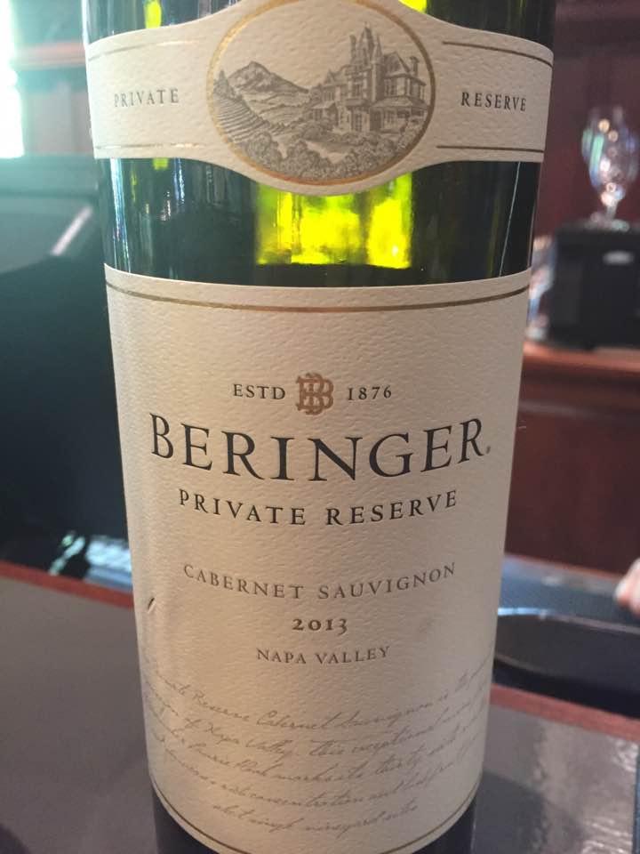 Beringer – Private Reserve 2013, Cabernet Sauvignon – Napa Valley