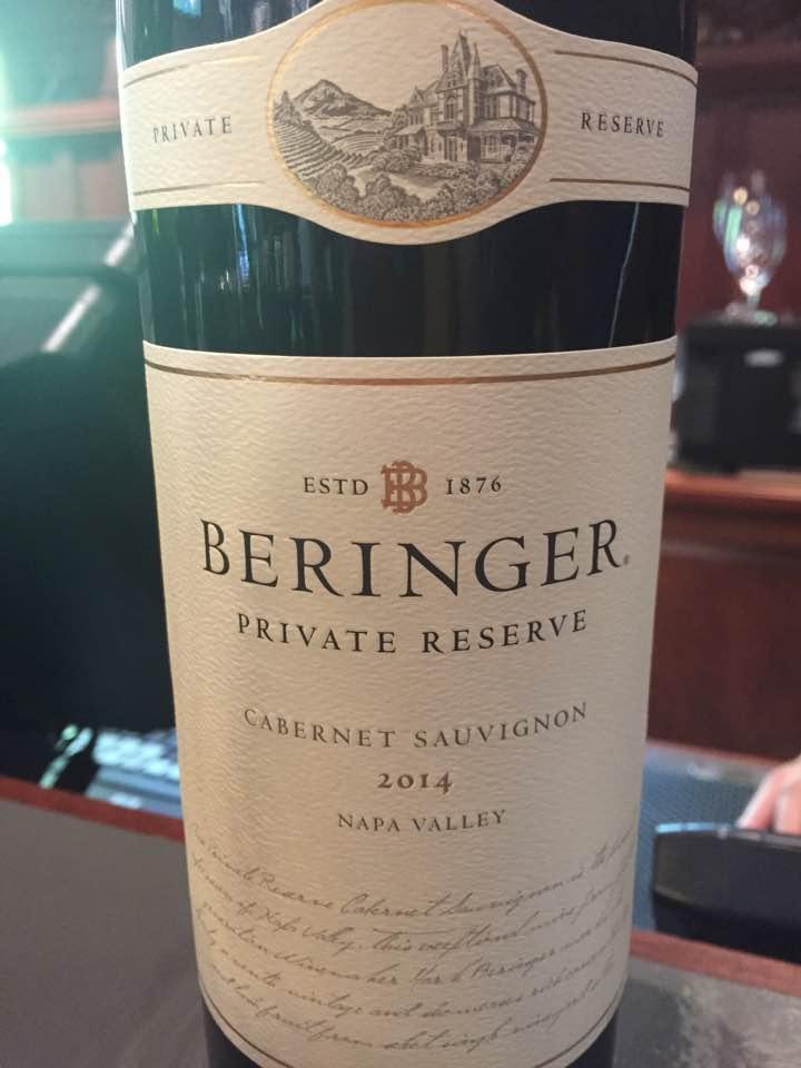 Beringer – Private Reserve 2014, Cabernet Sauvignon – Napa Valley