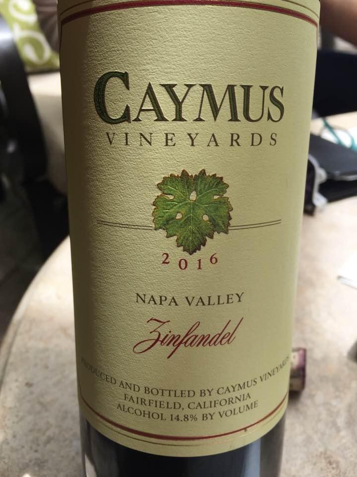 Caymus – Zinfandel 2016 – Napa Valley
