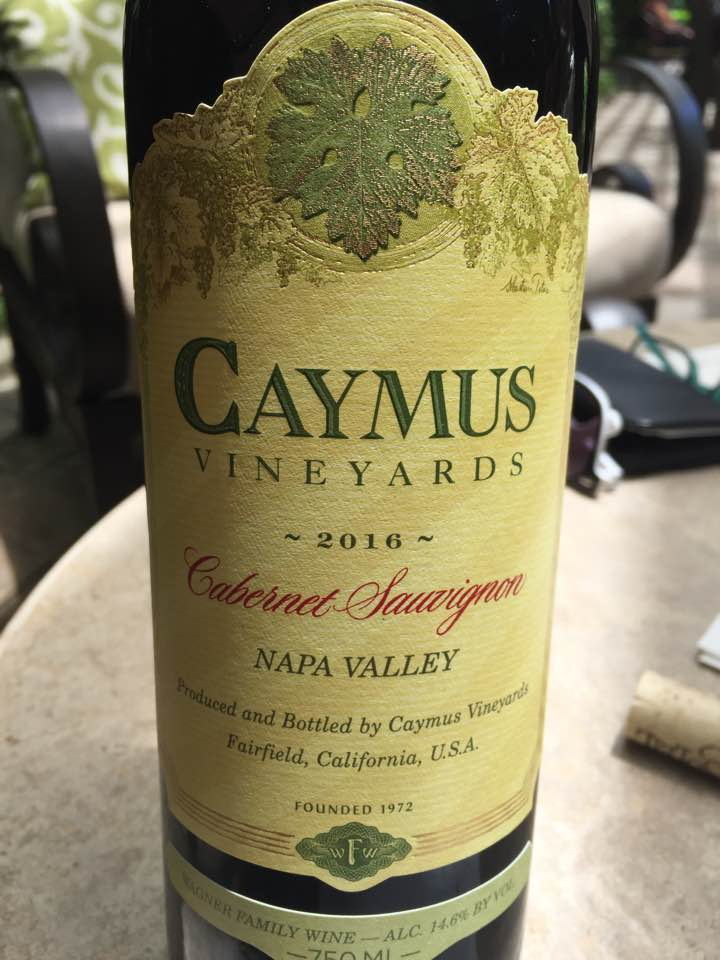 Caymus Vineyards – Cabernet Sauvignon 2016 – Napa Valley