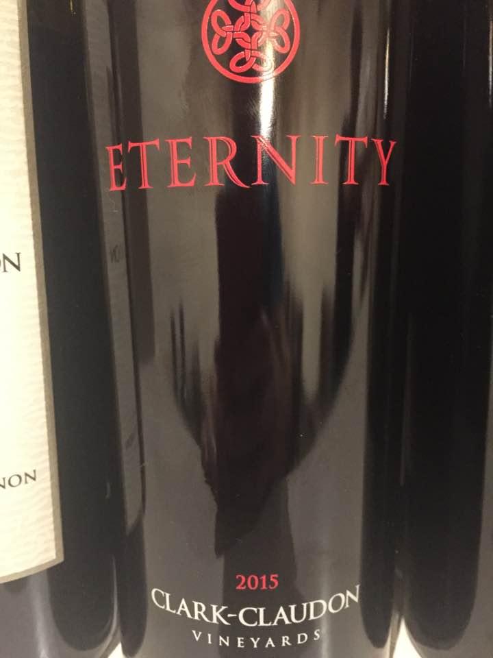 Clark-Claudon – Eternity 2015 – Napa Valley