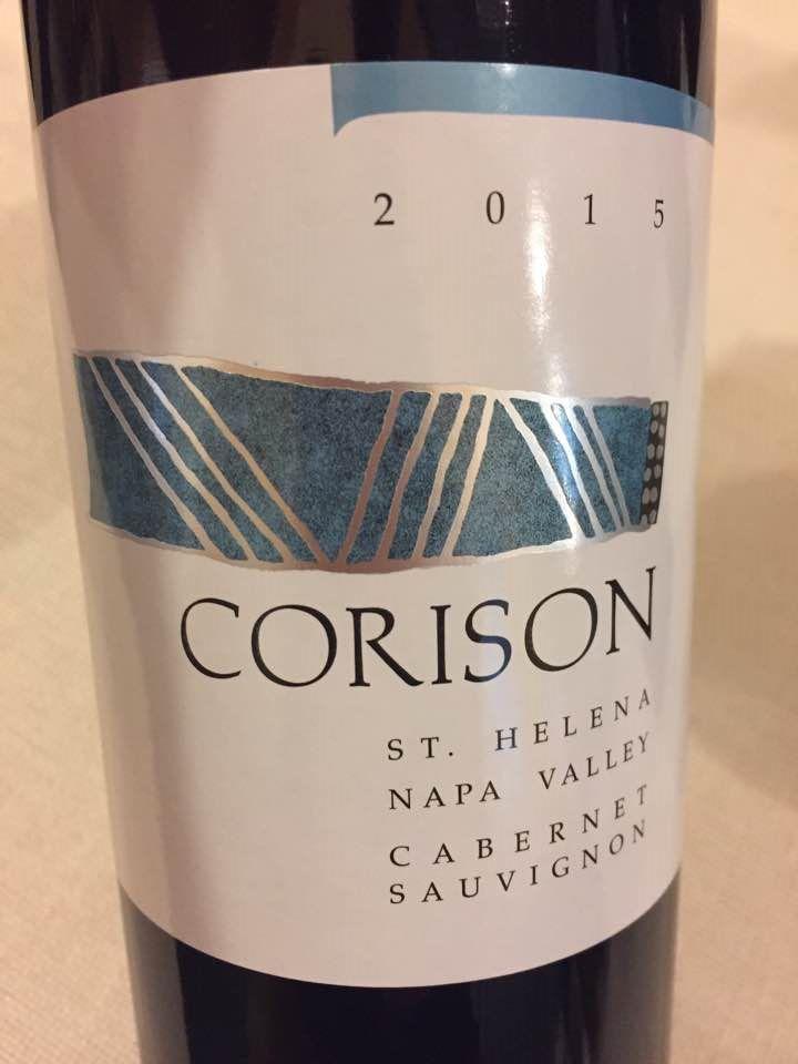 Corison – Cabernet Sauvignon 2015 – Napa Valley