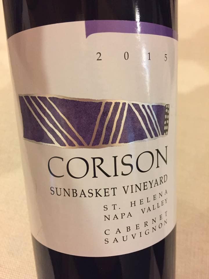 Corison – Cabernet Sauvignon 2015 Sunbasket Vineyard – Napa Valley