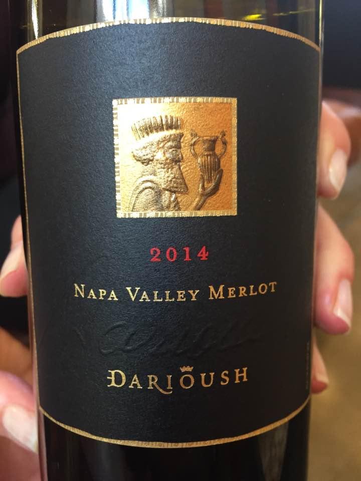 Darioush – Merlot 2014Signature – Napa Valley