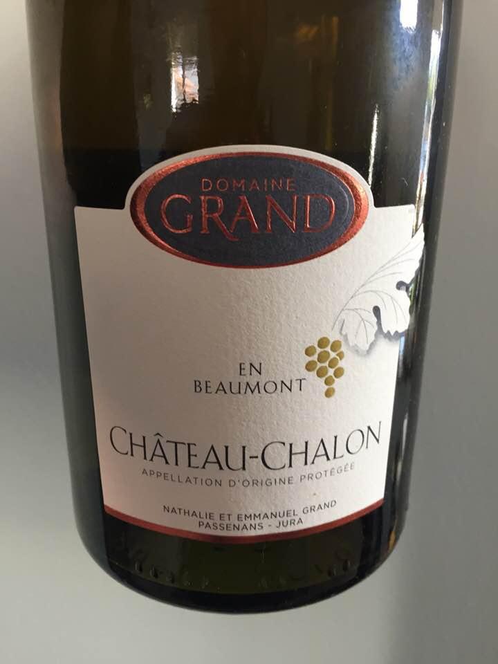 Domaine Grand – En Beaumont 2010 – Château-Chalon