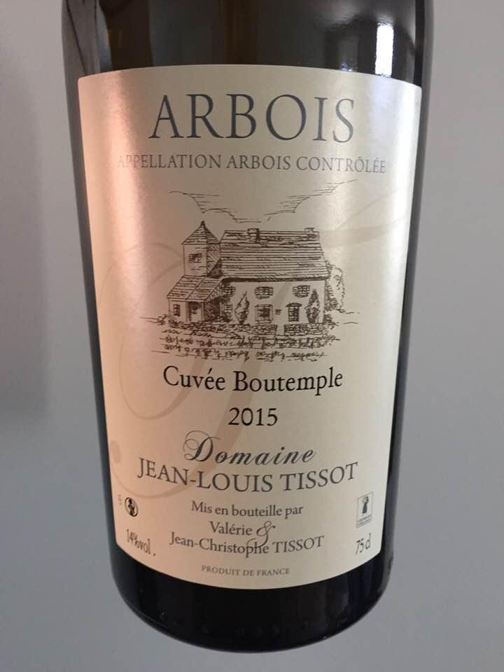 Domaine Jean-Louis Tissot – Cuvée Boutemple 2015 – Arbois