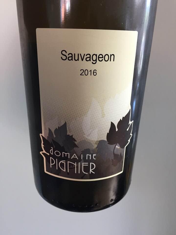 Domaine Pignier – Sauvageon 2016 – Côtes du Jura