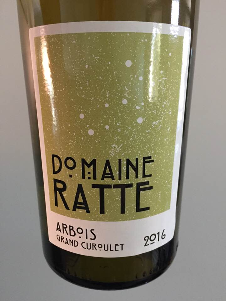 Domaine Ratte – Grand Curoulet 2016 – Arbois